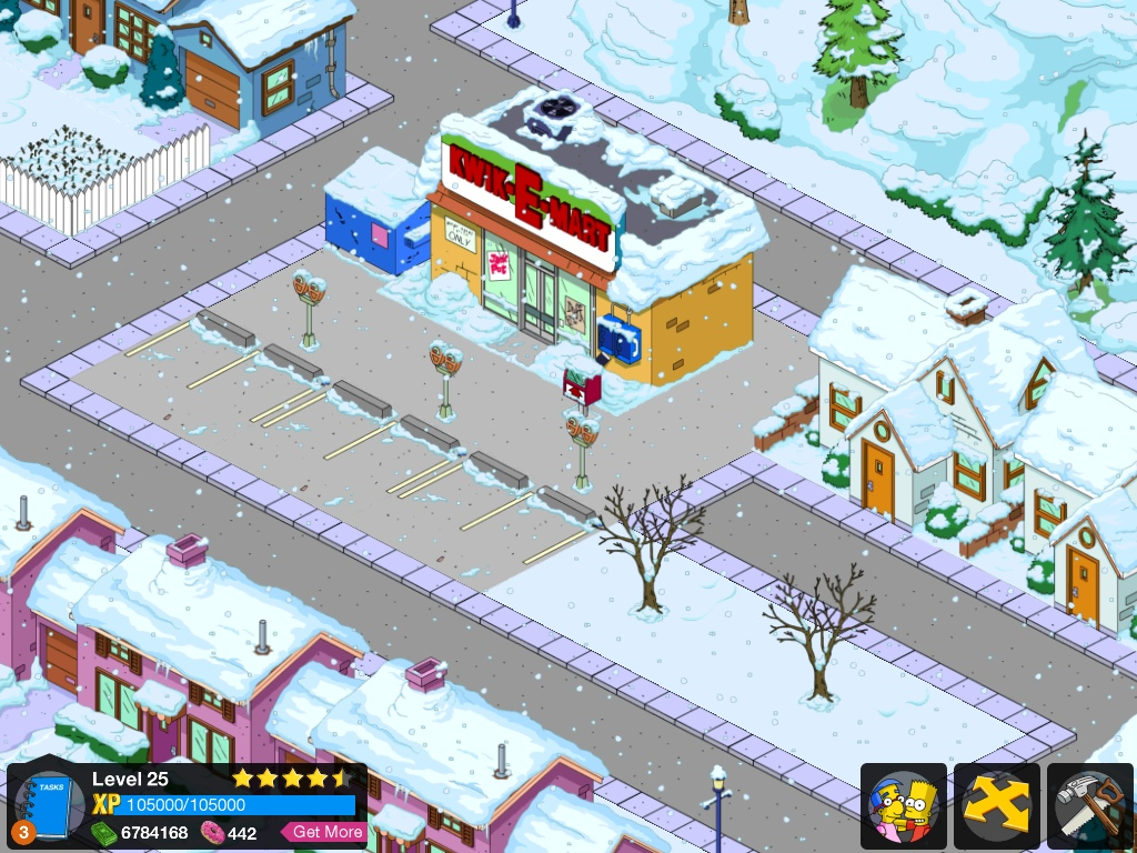 Kwik E Mart The Simpsons Tapped Out